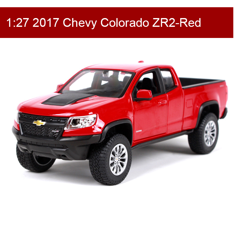 Maisto 1:27 Chevy Colorado ZR2 Diecast Model Car Metal Car Kids Toys Roadster Car simulation model For Gift Collection кресло scott howard arne jacobsen style egg chair premium