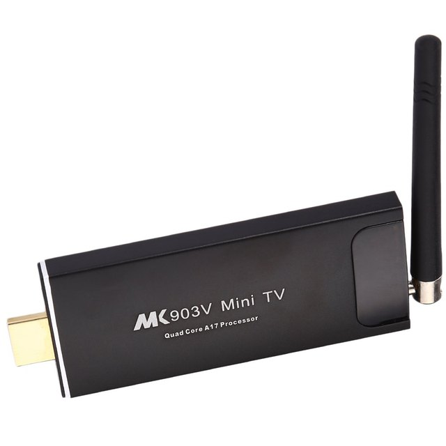 Mk903v Mini PC caixa de TV RK3288 Quad Core 2 GB 8 GB Android 4.4 4 K x 2 K HD H.265 Google Smart TV Streaming Media Player WiFi Bluetooth