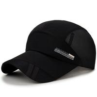 Drop Shipping Wholesale Brand Cap Baseball Cap Fitted Hat Casual Cap Gorras Mesh Hip Hop Snapback