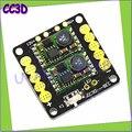 1 шт. QAV250 CC3D полет контроллер распределение мощности ж / 5 V / 12 V бэк выход из светодиодов переключатель