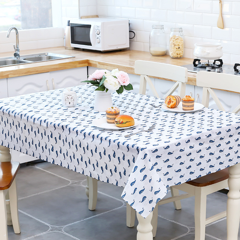 Waterproof And Oil-proof Table Clothes Cover Cloth Free Table Tablecloth Restaurant Tablecloth Table Mat Table-cloth