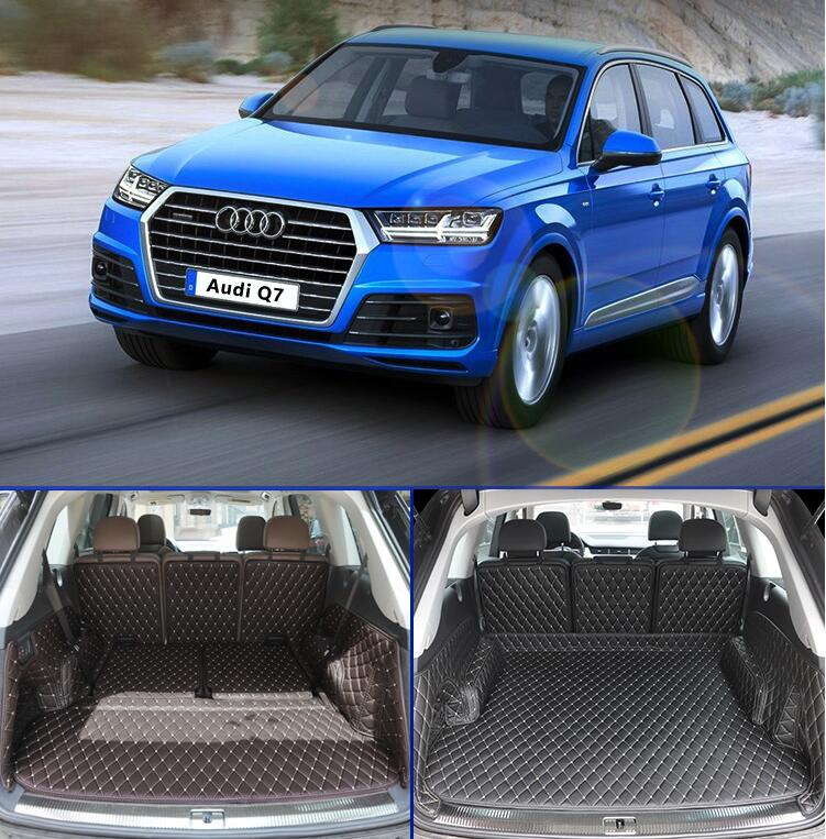Full Rear Trunk Tray Liner Cargo Mat Floor Protector Foot