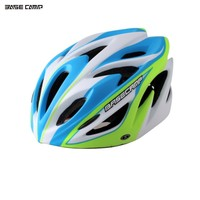BASECAMP Scrub One Piece EPS Foam PC Shell Elastic Adjuster Suspenders Foam Light Impact Bicycle Helmet