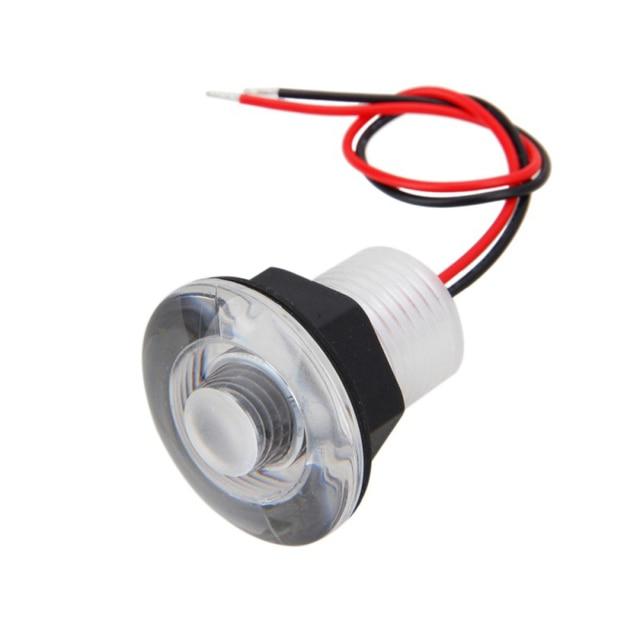 38MM LED Corridor Light White/Blue 12V Boat Marine RV Courtesy Livewell Lamp