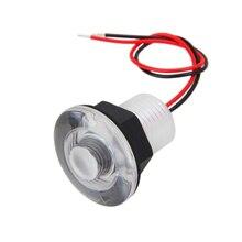 Luz LED para pasillo de 38MM, luz blanca/Azul, 12V, para barco, caravana marina, cortesía, lámpara Livewell