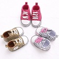 NEW Hot Sale Fashion Leopard Toddler Baby Shoes 2016 Star Printing Kids Casual Sport Shoes Babies Sneakers First Walkers 1083