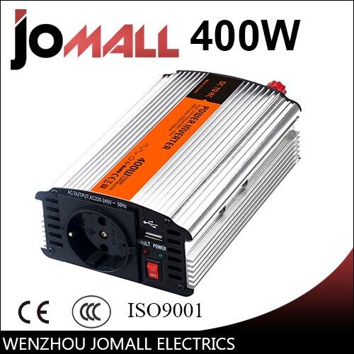 цена на 400W modified sine wave 12/24V DC to 110/220V AC Portable Car power inverter