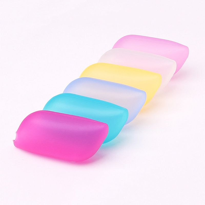 3Pcs Portable Silicone Toothbrush Head Sleeve Brush Case Cover Travel Accessory