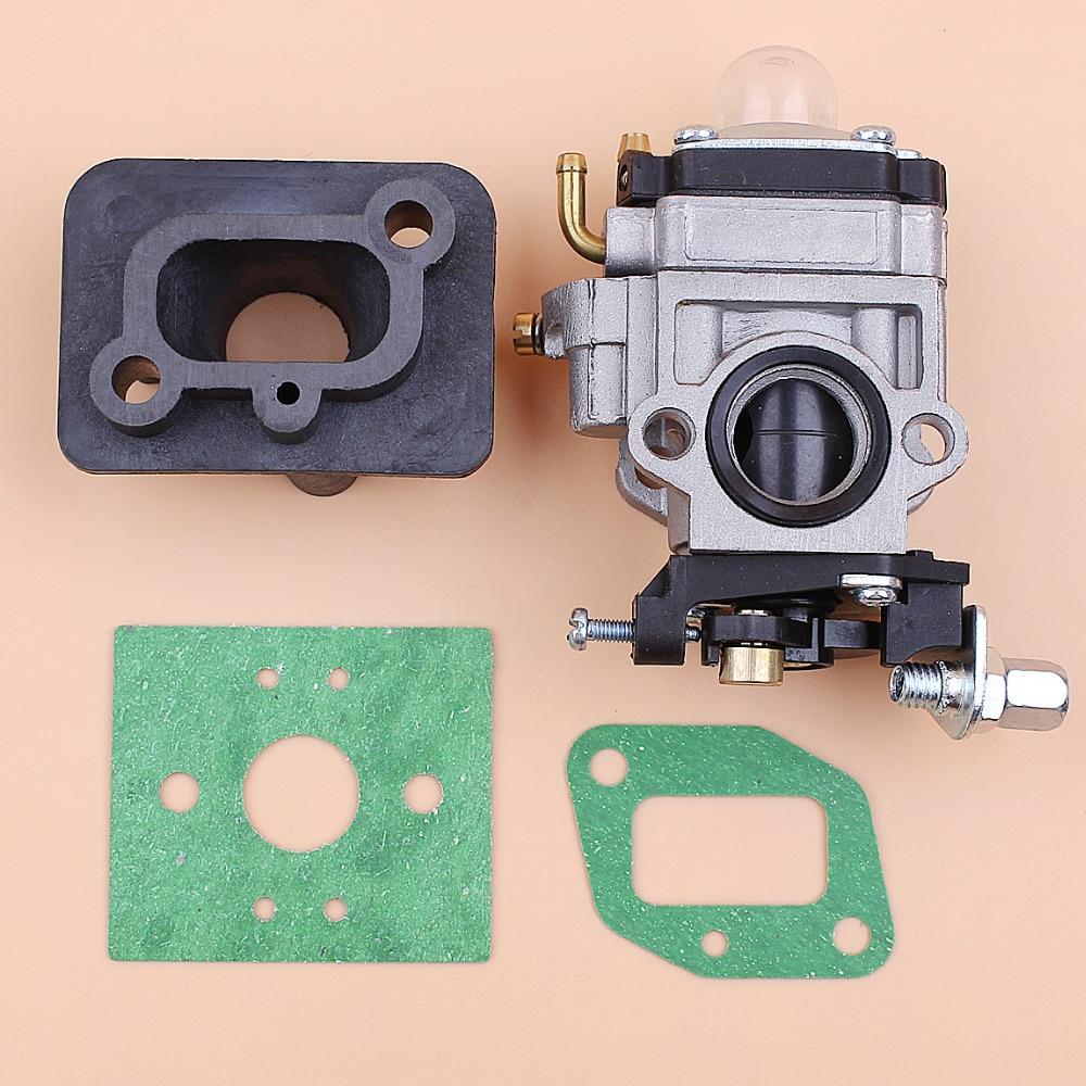 Carburetor Intake Manfold Gasket Kit Fit 43cc 40-5 BC430 CG430 1E40F-5 Mitsubishi TL33 TL43 T52 TU43 Engine Brushcutter Trimmers