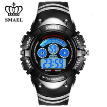 New LED Watches for Children Fashion LED Display Cool Colors Kids Sport Watches Alarm Date Back Light Relojes Kids Clock WS0616B