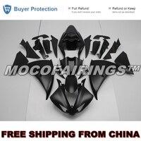 For Yamaha YZF R1 2009 2010 2011 ABS Fairing Plastic Kit 100% Fitment MATTE BLACK YZF R1 09 10 11