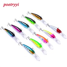 POETRYYI newest minnow fishing lure hard bait sea trolling 90mm/7.28g sinking for tuna bluefish 30