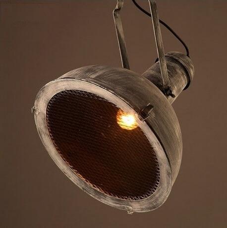 Ameriški Country Loft Style Iron obesek luči svetilke mreža - Notranja razsvetljava - Fotografija 4