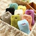 New Women Winter Women Ladies Soft Warm Fluffy Bed Socks Thickening Velvet Bow Thermal Sokken Cute Socks calcetines mujer