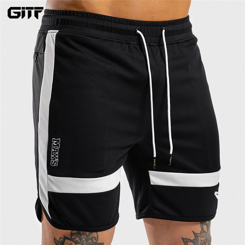 GITF Men Shorts Sport Training Shorts Men Running Shorts Mans Gym  Fitness Joggers Sweatpants Jumper's Basketball Shorts Black