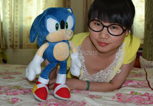 Anime Doll Plush Toys Sonic Stuffed Animals Soft Toys SONIC THE HEDGEHOG Soft Plush Toy 12inches