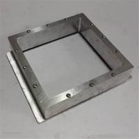 SWMAKER DIY SLA DLP 3D printer parts 115 *115 mm aluminum alloy Resin Tank High transmittance quartz glass resin tank