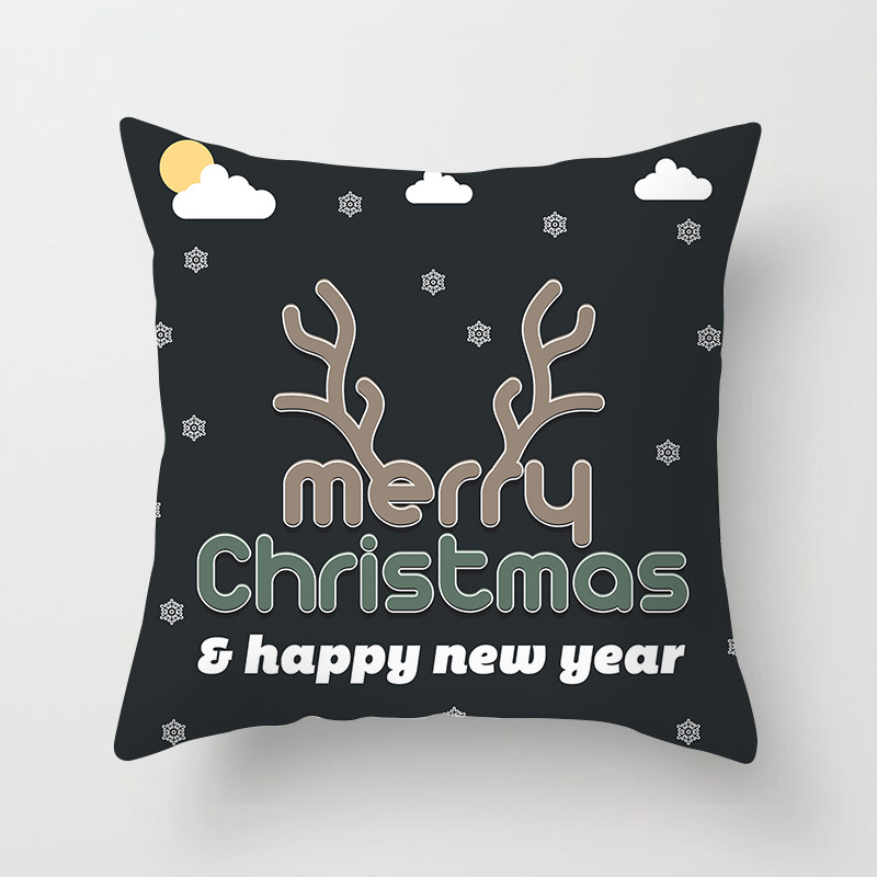Merry Christmas Decorations For Home Decoration Noel 2018 Christmas Ornaments Christmas 2018 Decor Pillow Case Gifts Xmas Decor  (7)