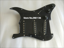 Hot Sell st electric guitar Pickups and circuit boards ,black colour,Real photos,free shipping,wholesale!