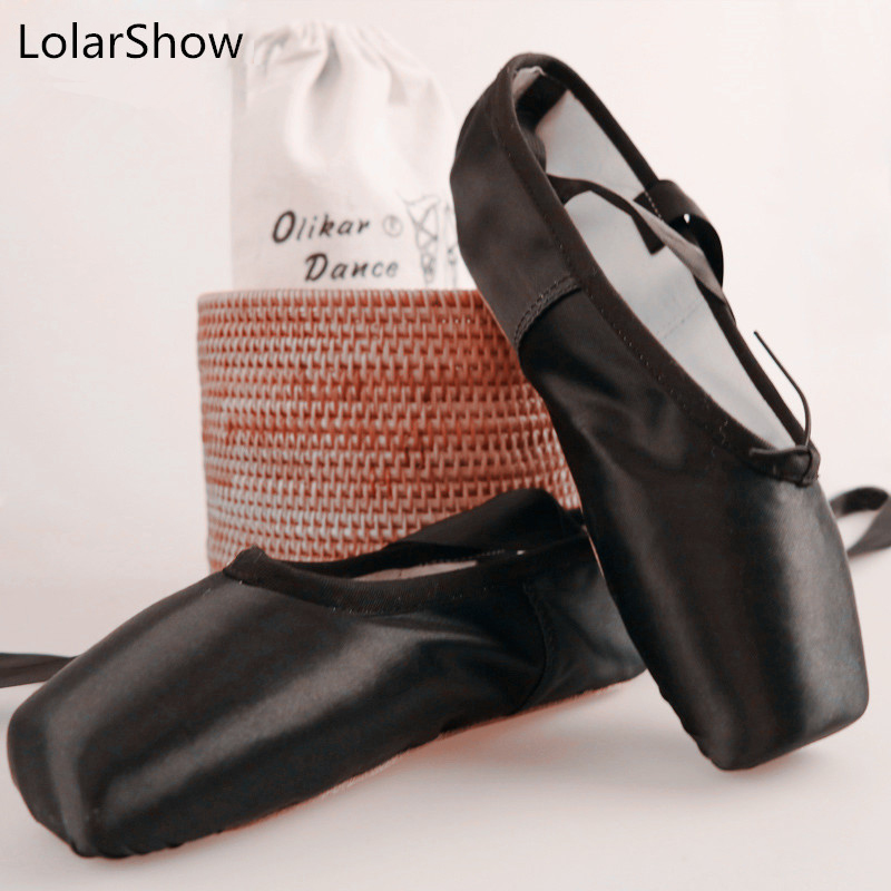 Girls Kids Pointe Shoes Dance Slippers High Quality ... |Practice Ballet Shoes