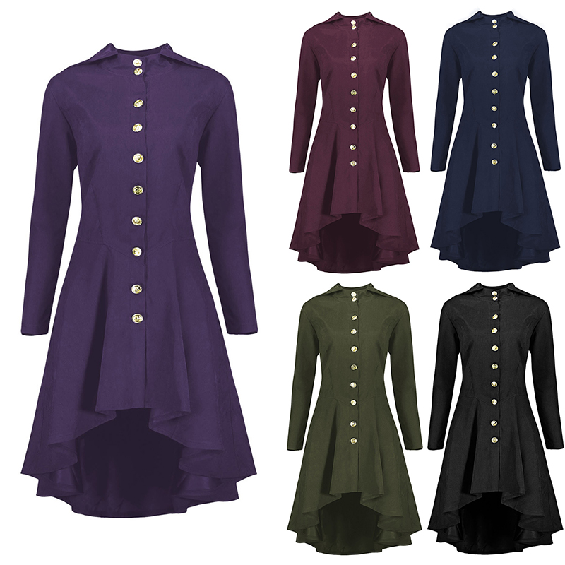 Gothic Lolita Women Steampunk Victorian Lace Up Off Shoulder Top Waistcoat Set