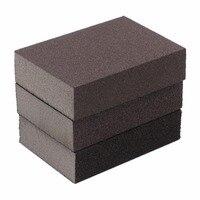 10PCS 100mmx70mmx26mm Drywall Polishing Sanding Sponge Block Sandpaper Sander Tool Abrasive Block Grit 100 180 320