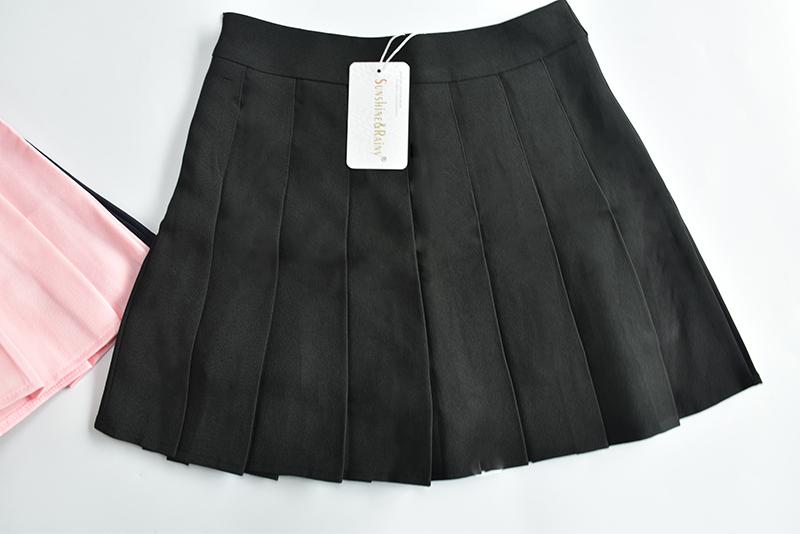 HTB1D.c9QpXXXXcUXFXXq6xXFXXXg - Summer American School Style Fashion Skirts
