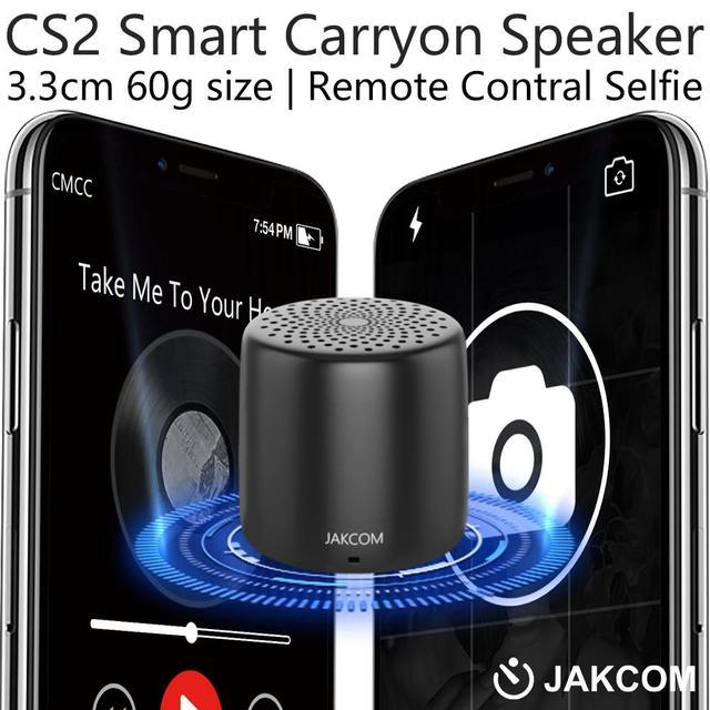 JAKCOM CS2 Smart Carryon Speaker music portable speaker sound bar waterproof with TF card FM radio Control Selfie Speakers