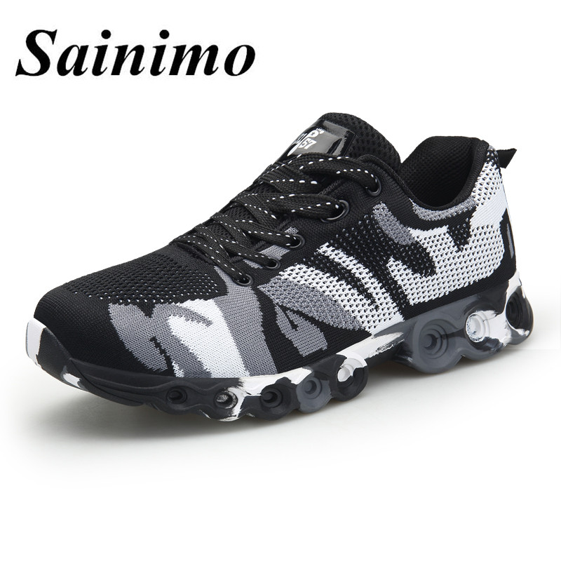 Men Running Shoes Lace-up Style Shoes Breathable Jogging Trainers Male Sneakers Men Athletic Sport Shoes Zapatos De Hombre Underwear & Sleepwears