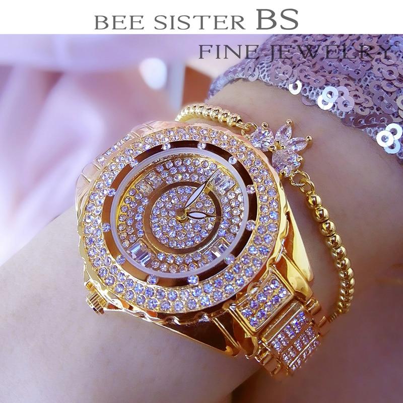 Часы женские, элегантные, с большим циферблатом, из нержавеющей стали, в европейском стиле