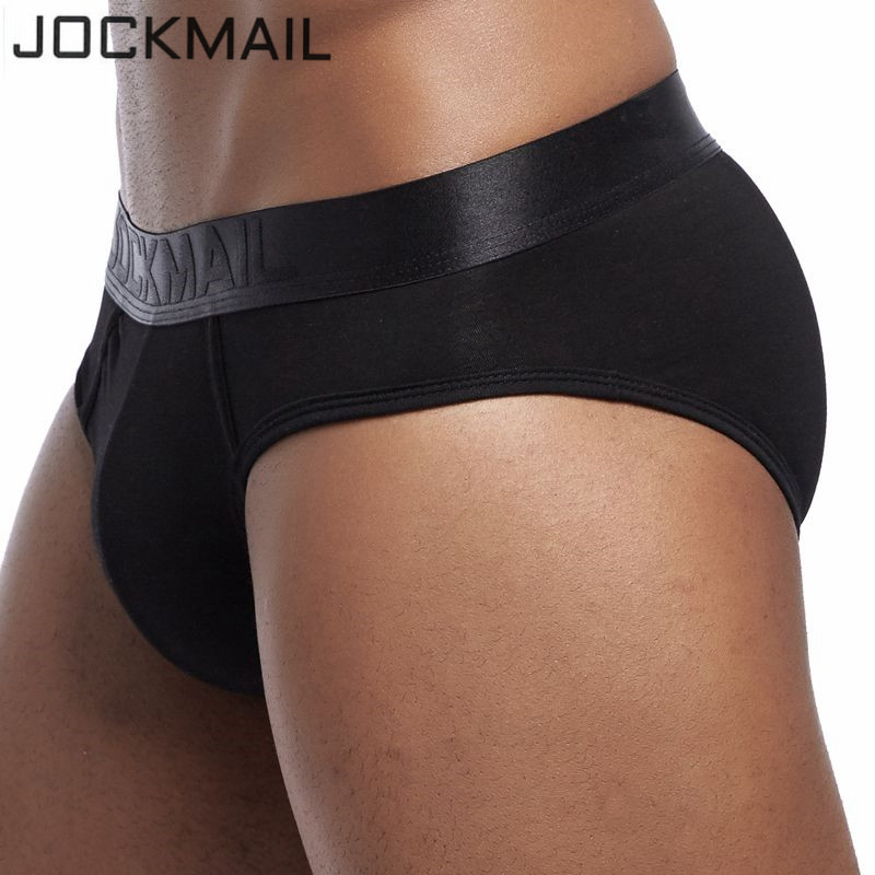 Jockmail Men Briefs Underwear Men's Sexy Breathable Underpants Modal Comfortable Mens Underwear Shorts Cueca Gay Male Panties