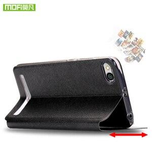 Image 4 - Mofi For Xiaomi Redmi 5A case For Xiaomi Redmi 5A case cover silicone TPU holder flip leather For Xiaomi Redmi 5A case 360 hard