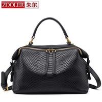 ZOOLER Women 100 Genuine Leather Handbag Soft Natural Skin Daily Bag Top Grade Lady Shoulder Bag