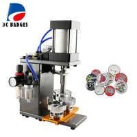 Pneumatic button badge machine efficiently badge press making machine