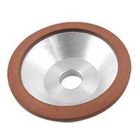 100x32x20x10x3mm Resin Bonded Flaring Cup Diamond Grinding Wheel 240 Grit