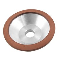 100x32x20x10x3mm Resin Bonded Flaring Cup Diamond Grinding Wheel 240 Grit