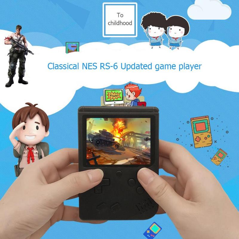 Game Console 8 Bit Retro Mini Pocket Handheld Player +Handle Built-in 168 Classic Games Best Gift for Child Nostalgic Player 4
