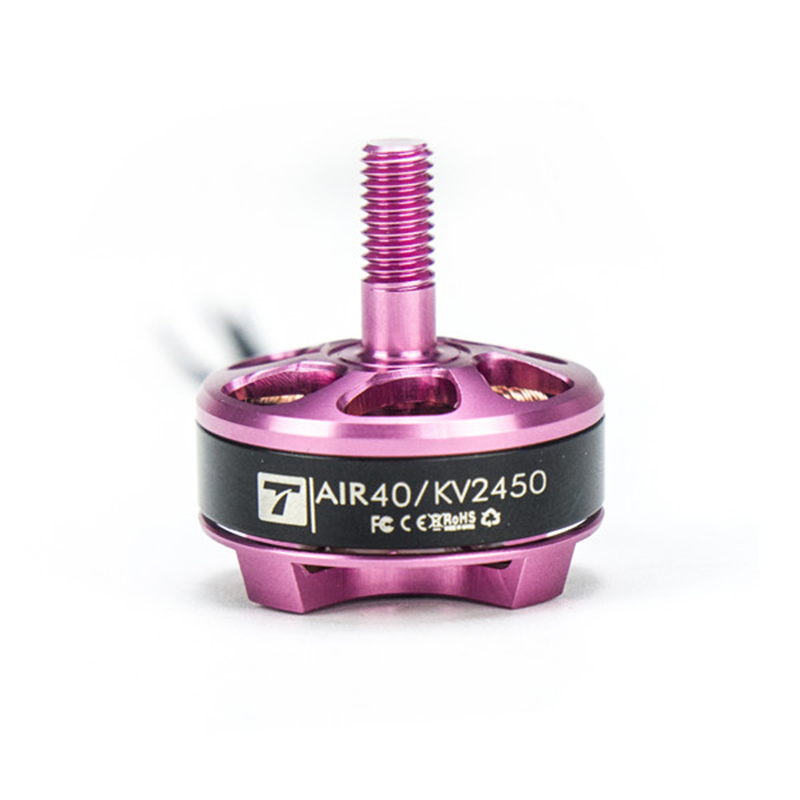 High Quality T-Motor AIR 40 2205 2450KV 3-4S Brushless Motor Pink Purple for Racing Drone RC Multicopter t motor brushless motor u10 plus kv80 drone brushless motor