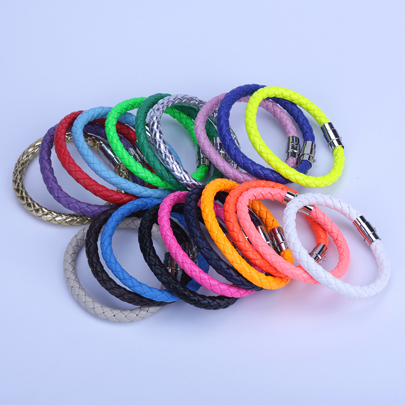 10PCS Fashion Jewelry Female Wrap Bracelets & Bangles Adjust Balance the magnet Bracelets Alloy Safety Clasp Bracelets