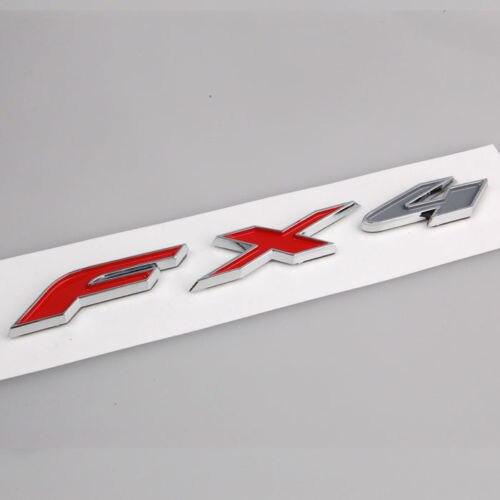 Caminhão Auto Chrome Bagageira Emblema Emblema Autocolante para Ford F-150  FX4 FX4 Car Styling Adesivos de carro Carro-cobre 23b6d06087
