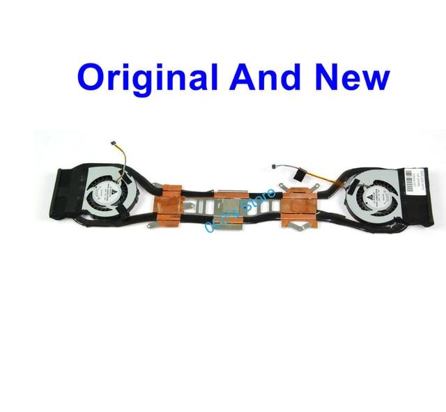 Original new cpu laptop cooler fan com dissipador de calor apto para hp envy 13-1000 13-1005tx 538340-001 delta ksb05105hb frisp609k009163a
