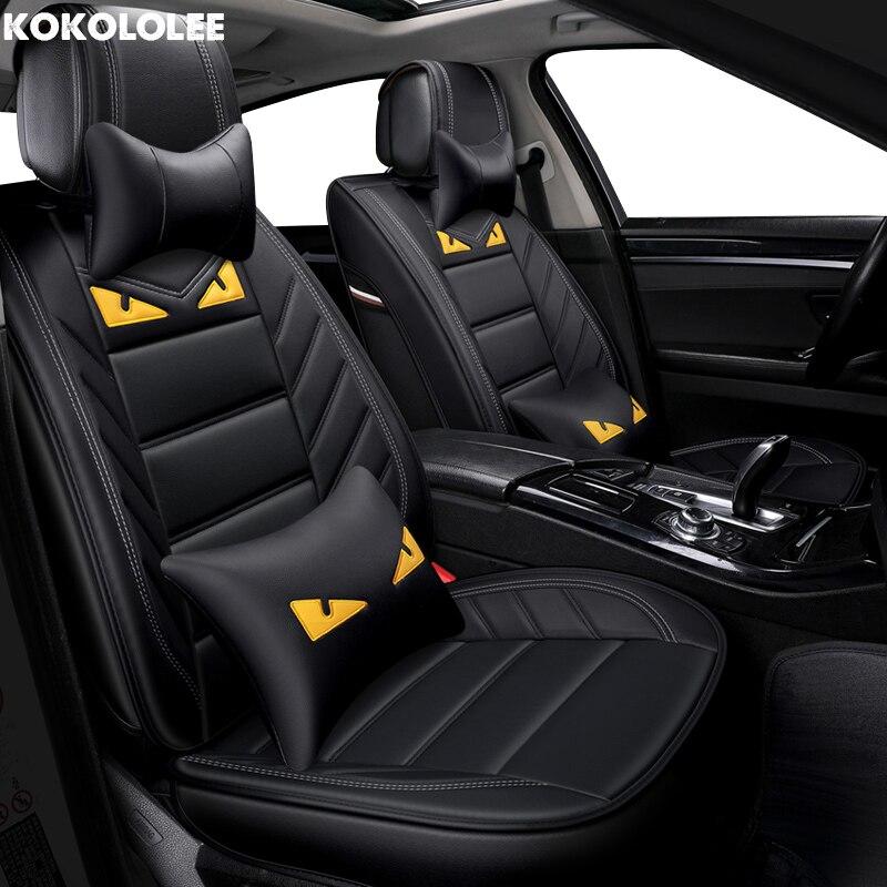 [KOKOLOLEE] авто чехлы для Альфа Ромео 156 поло седан kia spectra opel meriva ssangyong автомобильные аксессуары стиль