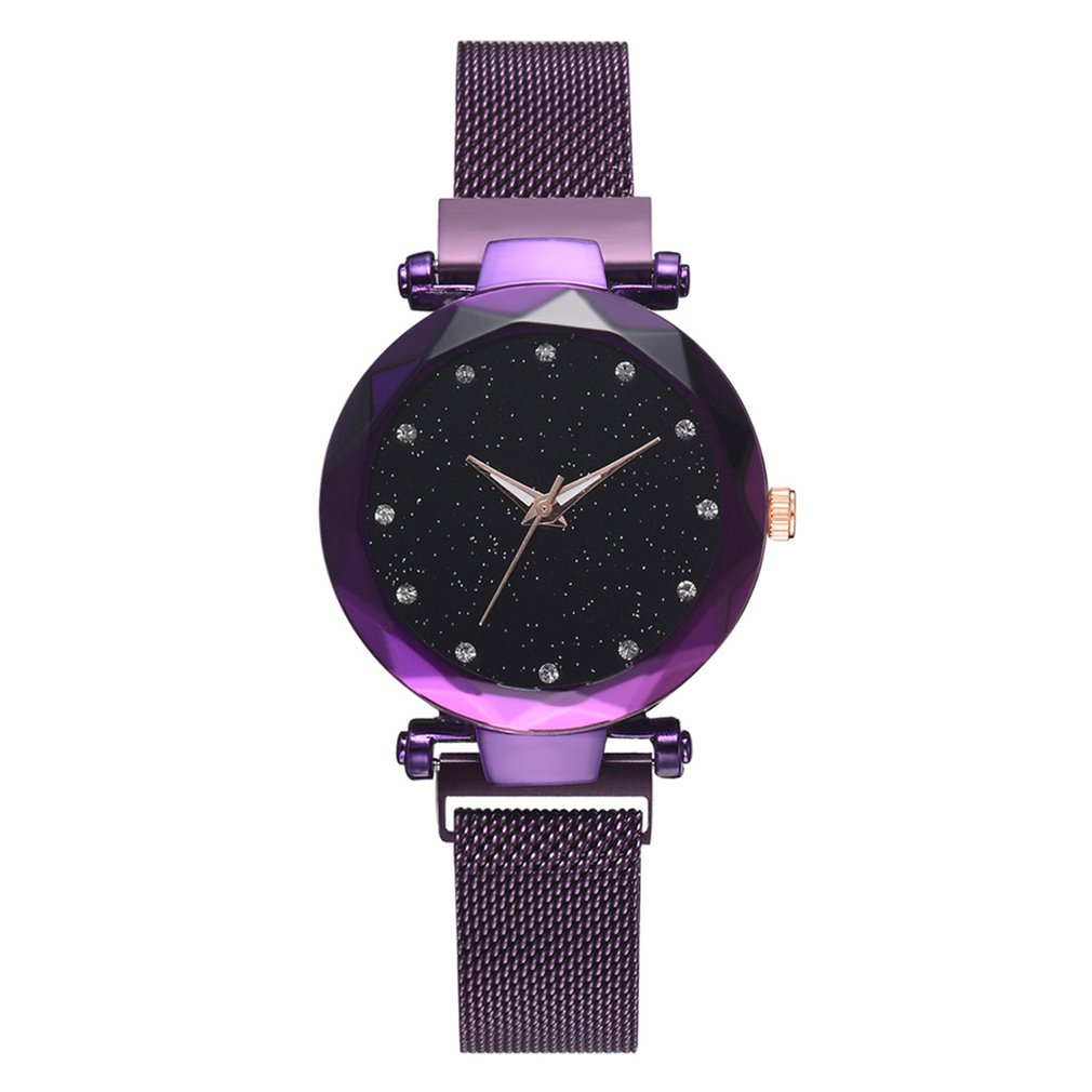 Luxury Brand Quartz Women Watches Starry Small Watch Surface Magnet Strap Casual Clock Fashion Wristwatch Women Free ShipingLuxury Brand Quartz Women Watches Starry Small Watch Surface Magnet Strap Casual Clock Fashion Wristwatch Women Free Shiping