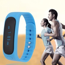 Clock Deep Waterproof Intelligent Sport Minitoring Wristband Calling Alarm Smart Bracelet 4 Colors Optional blue Well Sell