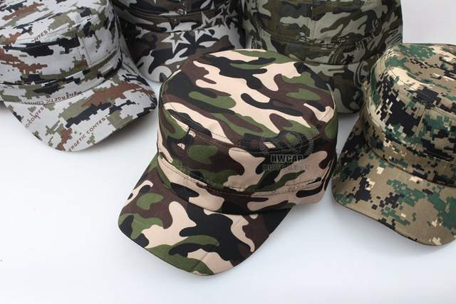 1b75d1a3a22 placeholder Marine Corps Hat Camouflage Flat Top Cap Men patriot Baseball  Cap US Air Force Club Navy