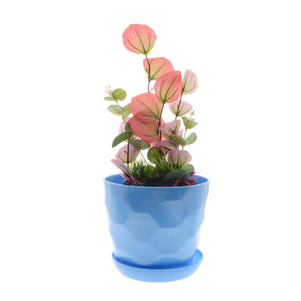 Gros Pot Fleur Plastique €27.18 8% de réduction|3 pcs/lot 20*17 cm gros pots de fleurs top qualité  pot de fleurs jardin incassable en plastique pépinière pots pour plantes