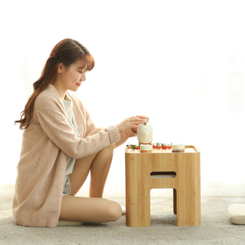 Wondrous Free Shipping Bamboo Storage Ottoman Stool Japanese Coffee Table Small Table Home Funiture Inzonedesignstudio Interior Chair Design Inzonedesignstudiocom