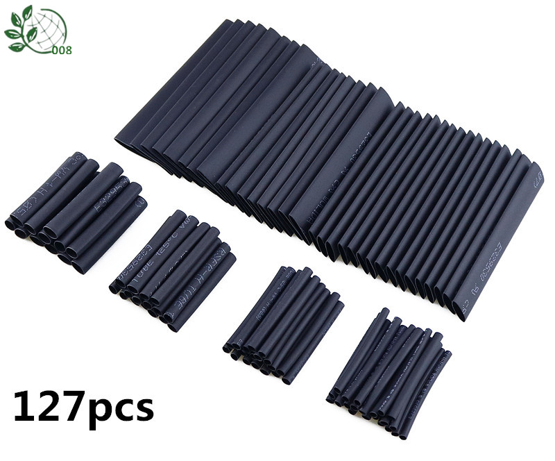 42 Pc Heat Shrink Tubing Assortment 3:1 Ratio Waterproof Electrical Wire