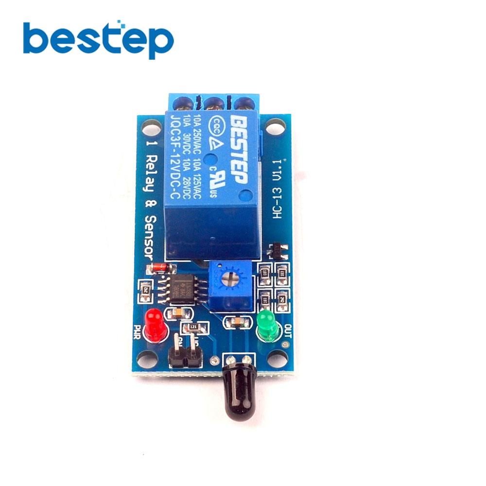 12v Flame Sensor Module Fire Detection Alarm 1 Reverse Car Parking Circuit Using Ic Lm358 Aeproductgetsubject