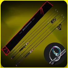 все цены на YUANWEI Spinning / Casting Fishing Rod 2 Tip 1.8m 2.1m ML/M 99% Carbon Lure Rods Vara De Pesca Olta Canne A Peche A052 онлайн